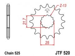 Звезда передняя JT JTF 520.15