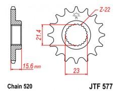 Звезда передняя JTF 577.14