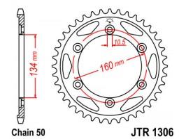 Звезда задняя Honda CBR929/954RR