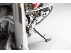 Защита выхлопной трубы SW-MOTECH металлическая серебристая