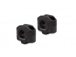 Проставки для увеличения высоты руля на 20 мм черные