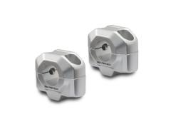 Проставки для увеличения высоты руля на 20 мм серебристые SW-MOTECH