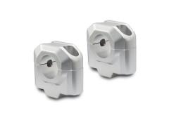 Проставки для увеличения высоты руля Ø28мм на 30 мм серебристые