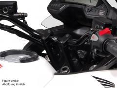 Адаптер для увеличения высоты руля ø 22 mm. h 90 mm. Silver. Honda Crossrunner (11-)