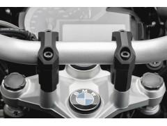 Адаптер для увеличения высоты руля H = 40 mm. BMW R 1200 GS черный (13-).