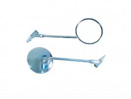 Зеркала универсальные металлические, пара, резьба 10мм / 8мм