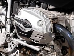 Алюминиевая защита цилиндров двигателя на BMW R1200 R/ST/GS/Adventure