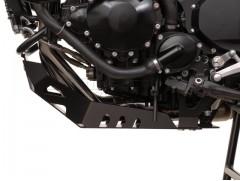 Алюминиевая защита двигателя черная для TRIUMPH Tiger 1050 / SE (06-)