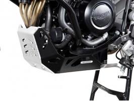 Алюминиевая защита двигателя черная для Triumph Tiger 800 / 800 XC (10-)