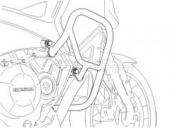 Защитные дуги HONDA Honda VFR 1200 X Crosstourer (11-)
