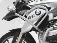 Верхние защитные дуги на BMW R 1200 GS LC (13-) серебристые