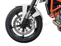 Слайдеры (крашпеды) передней оси для KTM 690 Duke 4 / R (11-)