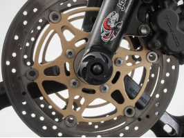 Слайдеры (крашпеды) передней оси для Suzuki DL 1000 (01-07)