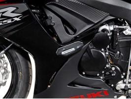 Боковые слайдеры (крашпеды) для Suzuki GSX-R 600 / 750 (11-)