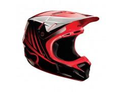 Мотошлем FOX V4 Daytona helmet красный