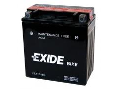 Аккумулятор EXIDE YTX16-BS