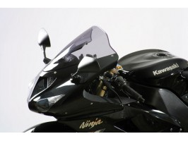 Стекло ветровое для Kawasaki ZX636 / ZX6R 05-08 / ZX 10 R 06-07 прозрачное